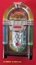 Briquet Boite publicitaire vintage « The Jukebox »