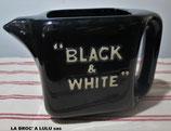 "Pichet Publicitaire Whisky ""Black & White""®"