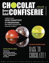 Chocolat et Confiserie Magazine N° 475-476