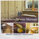 Gutschein für eine Massage à 90 Minuten