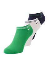Tom Tailor Socken 3er Pack grün, weiß, dunkelblau