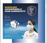 Nanosilber Mund-Nasenschutz (waschbar) 2 Stück pro Packung