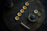 ●茶杯と銅茶托 6個set