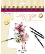 "Malbuch ""Coloriage Wild"" von Avenue Mandarine"