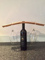 Fassdaube Weinflasche Gläser