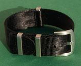 seat belt schwarz 22 mm 8279