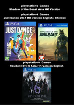 playstation4  Games  Asia HK Version