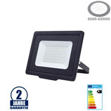 50W LED SMD Fluter City Line Schwarz