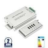 RGB Radiofunk Controller 144W/12V 288W/24V 12A 4 Knöpfe
