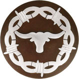 Conchos Barbed Wire Longhorn