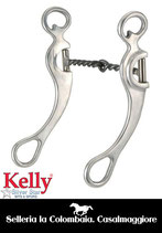 BIT – MORSO PER MONTA WESTERN Kelly Silver Star Twisted Sweet Iron Snaffle - 257129