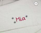 ❤️  Handtuch mit Sternchen -Modell 1