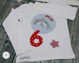 ❤️ Geburtstagsshirt Delfin - T-Shirt