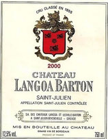 2015 Château Langoa Barton - 0,75l