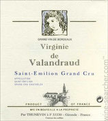 2016 Château Virginie de Valandraud Grand Cru - 3,0l