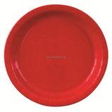 Тарелка цвет красный Apple Red, 6 шт, 17 см