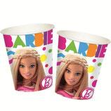 """Стаканы """"Барби"""" 270 мл 8 шт, бумажные"""