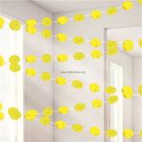 04 Гирлянда Круги Yellow Sunshine