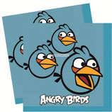 "Салфетки ""Angry Birds"" 25 см 16 шт"