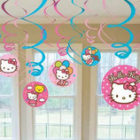 018 Спираль Hello Kitty 46-60см 12шт