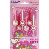 A0 Свечи для торта Hello Kitty 6шт