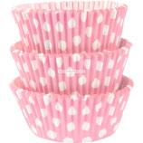 """A0 Розетки для выпечки кексов """"Розовый горох"""""""