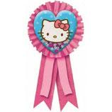 00 Значок Hello Kitty с розовой лентой