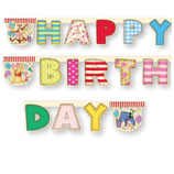 "Гирлянда Алфавит Винни ""Happy Birthday"""