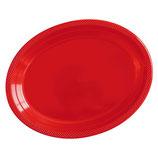 Блюдо сервировочное цвет красный Apple Red, 5 шт