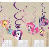018 Спираль My Little Pony 46-60см 6шт