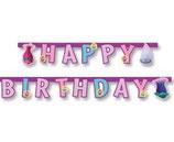 """Гирлянда Тролли """"Happy Birthday"""" 190 см"""