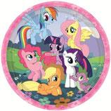 """Тарелки """"My Little Pony"""" 23 см 8 шт"""