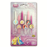 A0 Свечи для торта Disney Принцессы 6шт