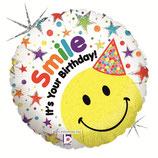 M18   Улыбка С днём рождения Голография / Smiley Birthday
