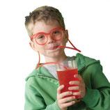 G Трубочка-очки для коктейля 1шт, ассорти