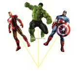Набор топперов Мстители фигуры