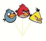 Набор топперов Angry Birds