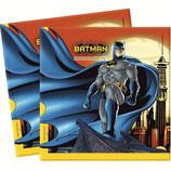 """Салфетки """"Бэтмен"""" 33 см 20 шт"""