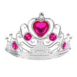 SL Корона Маленькая принцесса со стразами, цвет камней МИКС