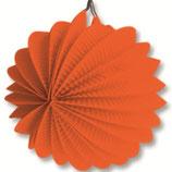 02 Фонарик оранжевый круглый бумажный