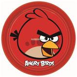 """Тарелки """"Angry Birds"""" 23 см 8 шт"""