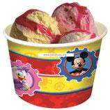 Стаканчики для мороженого Микки веселый, 8 шт.