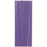 A2 Трубочки бумажные Горох мелкий, фиолетовые