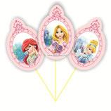 Набор топперов Принцессы и королевские питомцы, вариант 1