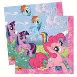 """Салфетки """"My Little Pony"""" 33 см 20 шт"""