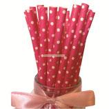 A1 Трубочки Розовые круги