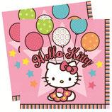 """Салфетки """"Hello Kitty"""" 33 см 16 шт"""