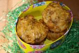 Osterei gefüllt mit 2 Muffin