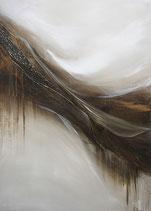 Original Abstracte Kunst, Acrylgemälde, Handgemalt, Unikat, Format: 50x70x3,5 cm
