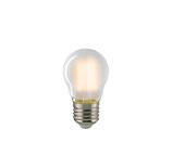 LED Kugellampe, E27, Filament, Dimmbar, Matt